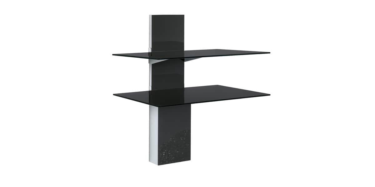 munari sp902 noir accessoires supports tv sur easylounge. Black Bedroom Furniture Sets. Home Design Ideas
