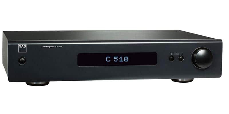 NAD C510 DAC Graphite