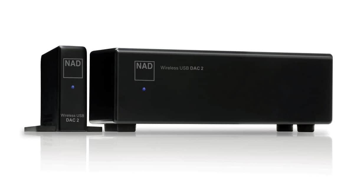 NAD DAC-2 Noir