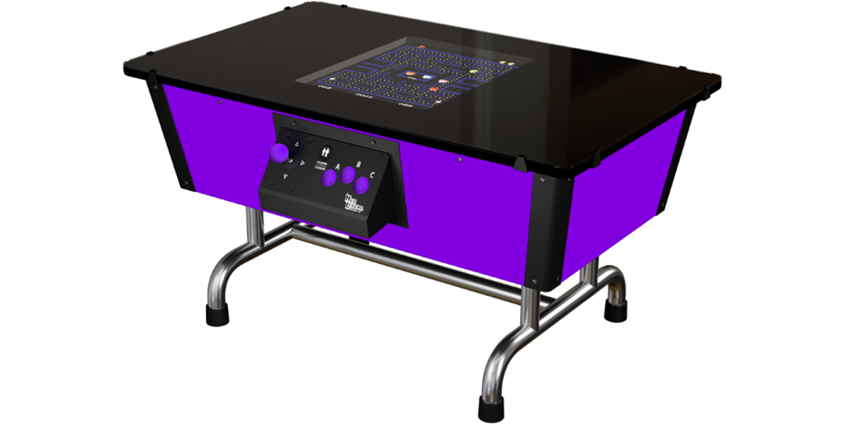 Neo Legend Table 80s Standard Violet