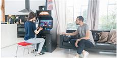 Neo Legend Tabouret Arcade Rouge