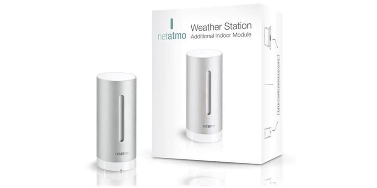 netatmo station m t o connect e objets connect s sur easylounge. Black Bedroom Furniture Sets. Home Design Ideas