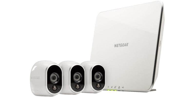 Netgear Arlo VMS3330 (Base + 3 caméra)