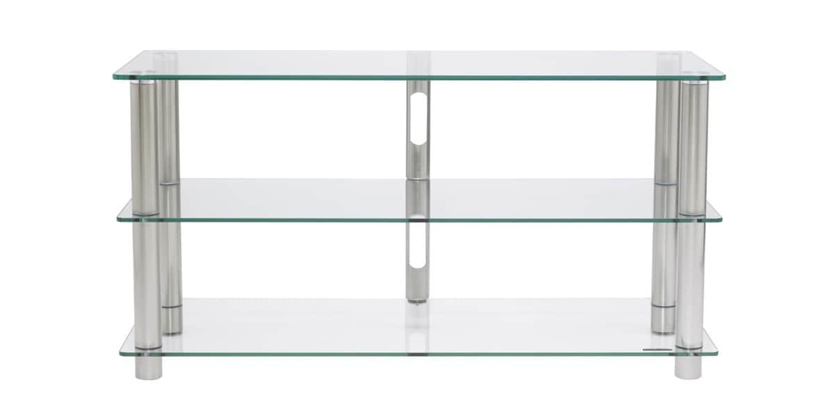 Norstone epur 3 meubles tv norstone sur easylounge for Meuble tv en verre but