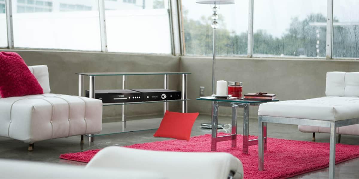 Norstone epur 3 meubles tv norstone sur easylounge - Deco lounge epure ...