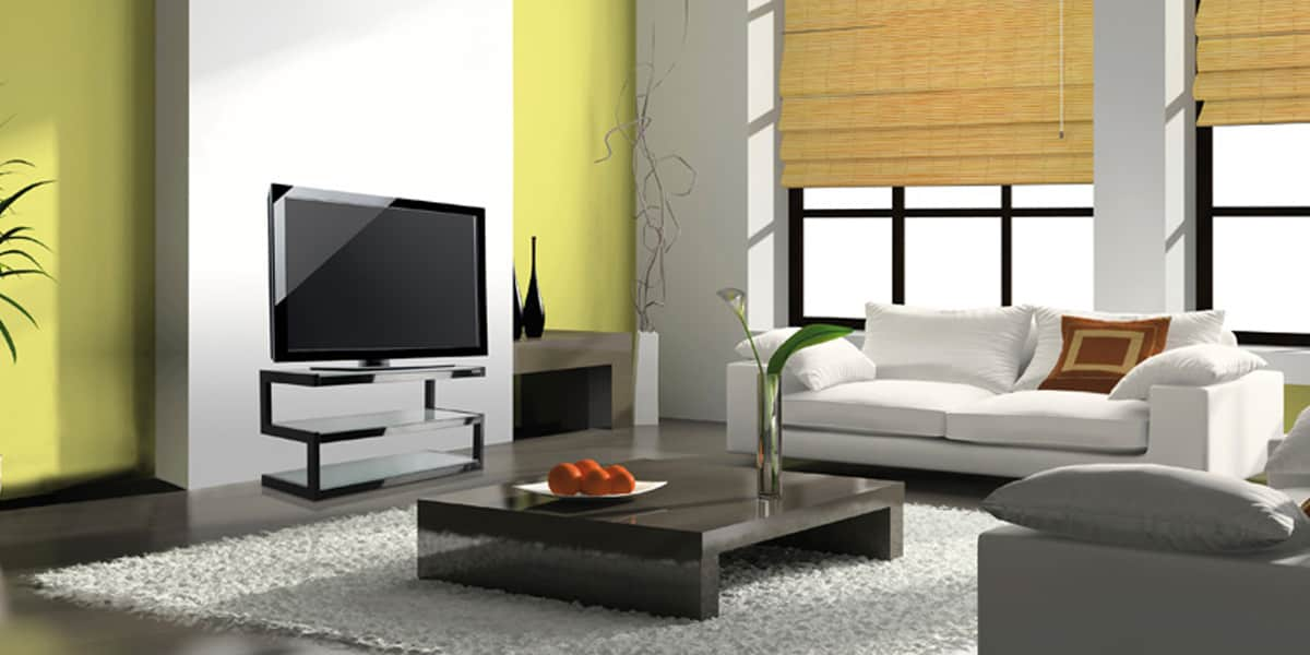 norstone esse noir et verre meubles tv norstone sur easylounge. Black Bedroom Furniture Sets. Home Design Ideas