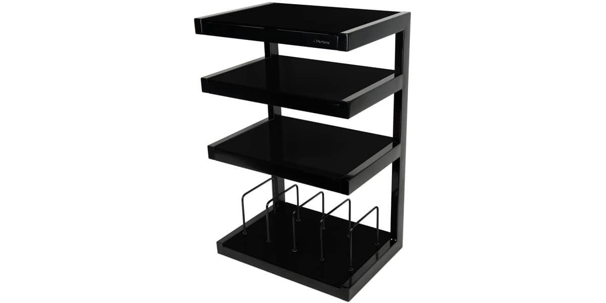 norstone esse vinyl noir meubles hifi sur easylounge. Black Bedroom Furniture Sets. Home Design Ideas