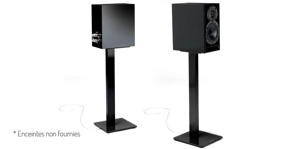 pieds pour enceintes accessoires audio pour home cin ma. Black Bedroom Furniture Sets. Home Design Ideas