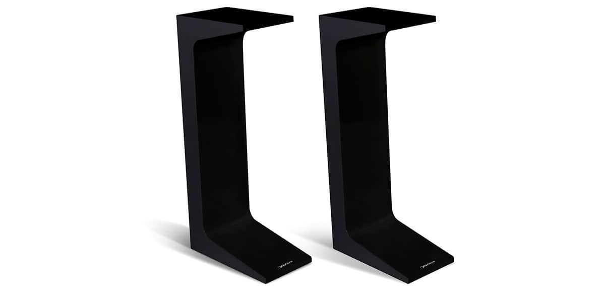 Norstone Arken Stand Laqué Noir