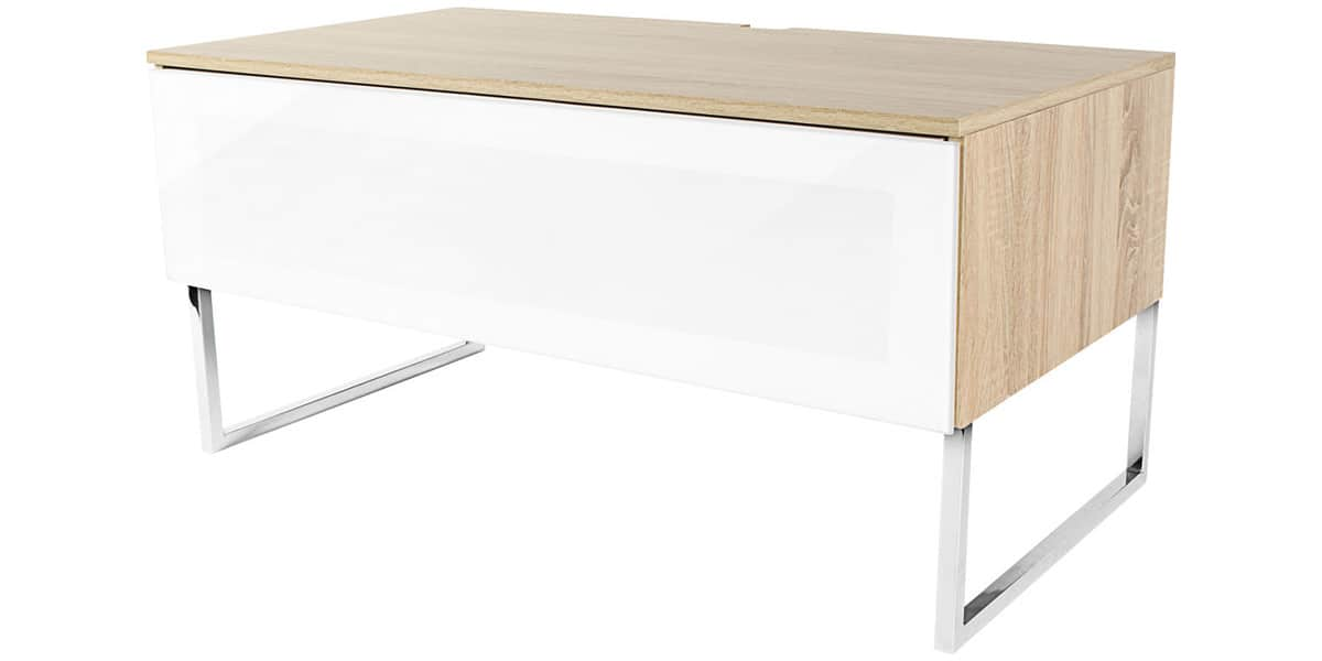 Norstone khalm ch ne blanc meubles tv norstone sur - Meuble tv infrarouge ...