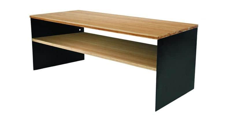 norstone vinkel bambou et noir meubles tv norstone sur easylounge. Black Bedroom Furniture Sets. Home Design Ideas