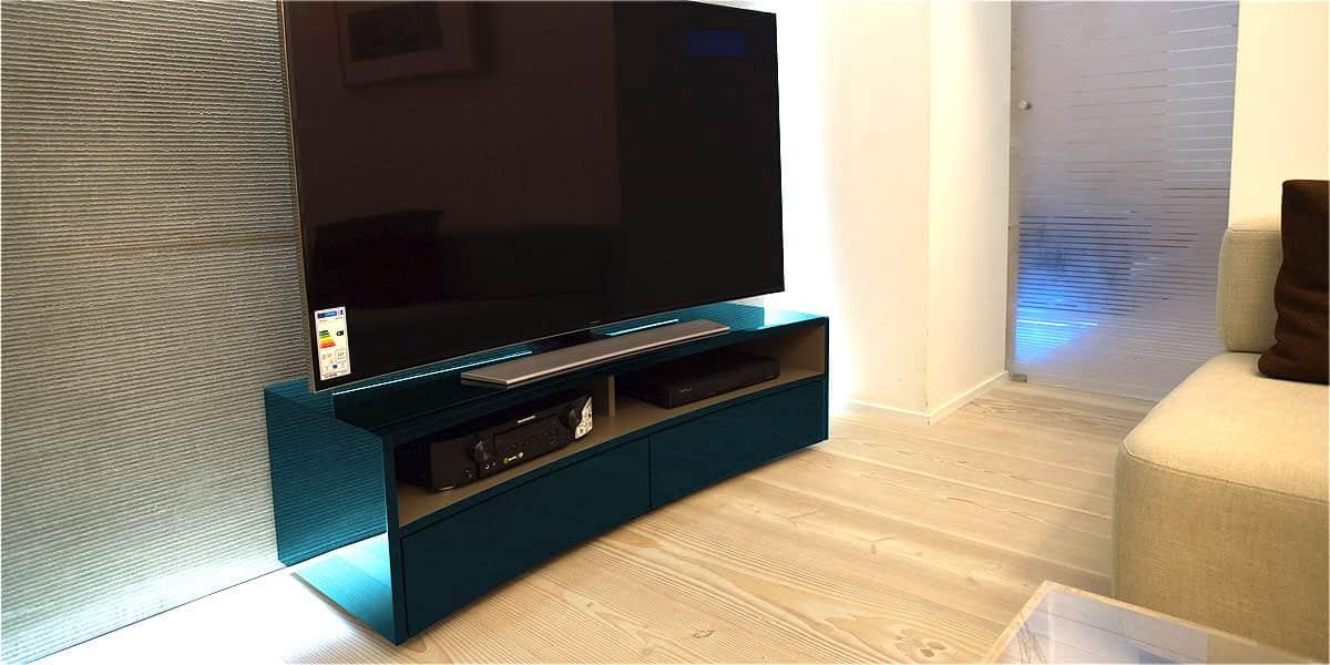 norstone valmy cobalt meubles tv norstone sur easylounge. Black Bedroom Furniture Sets. Home Design Ideas