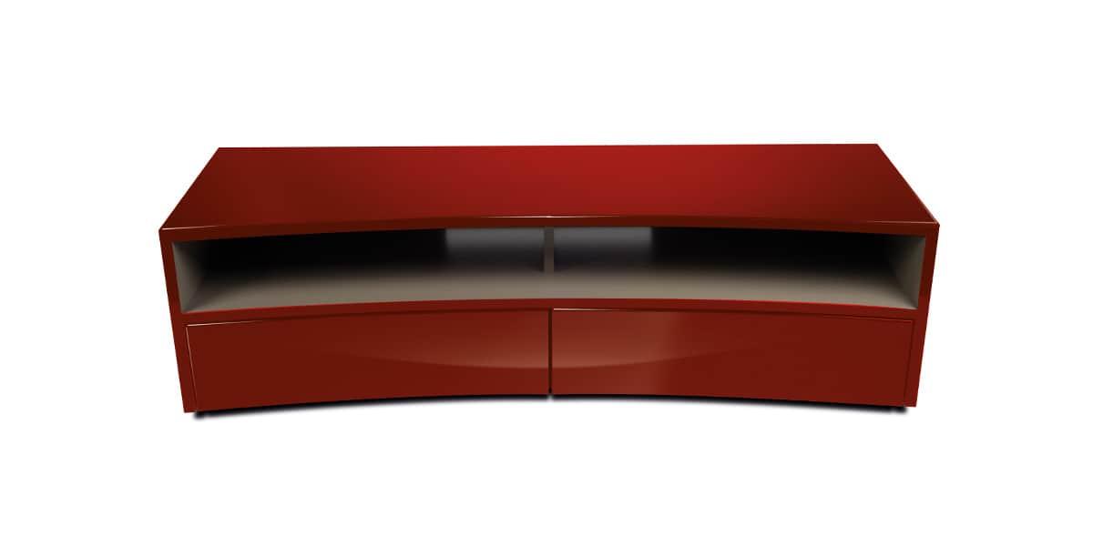 norstone valmy rouge de chine meubles tv norstone sur easylounge. Black Bedroom Furniture Sets. Home Design Ideas