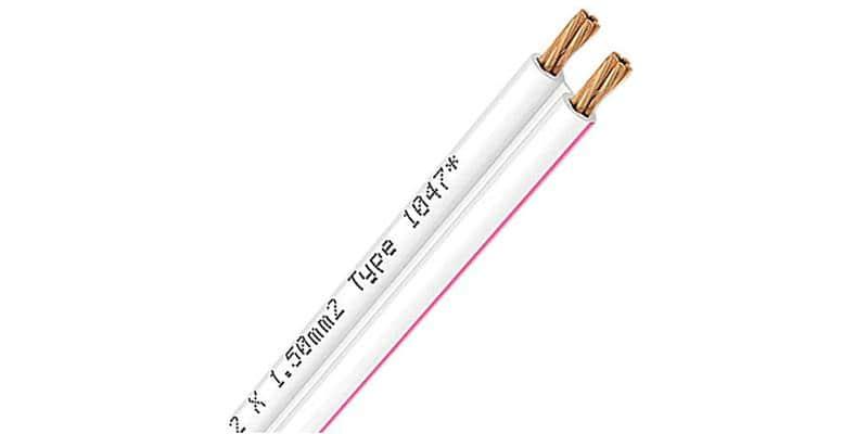 Oehlbach Speaker Wire 15 Blanc