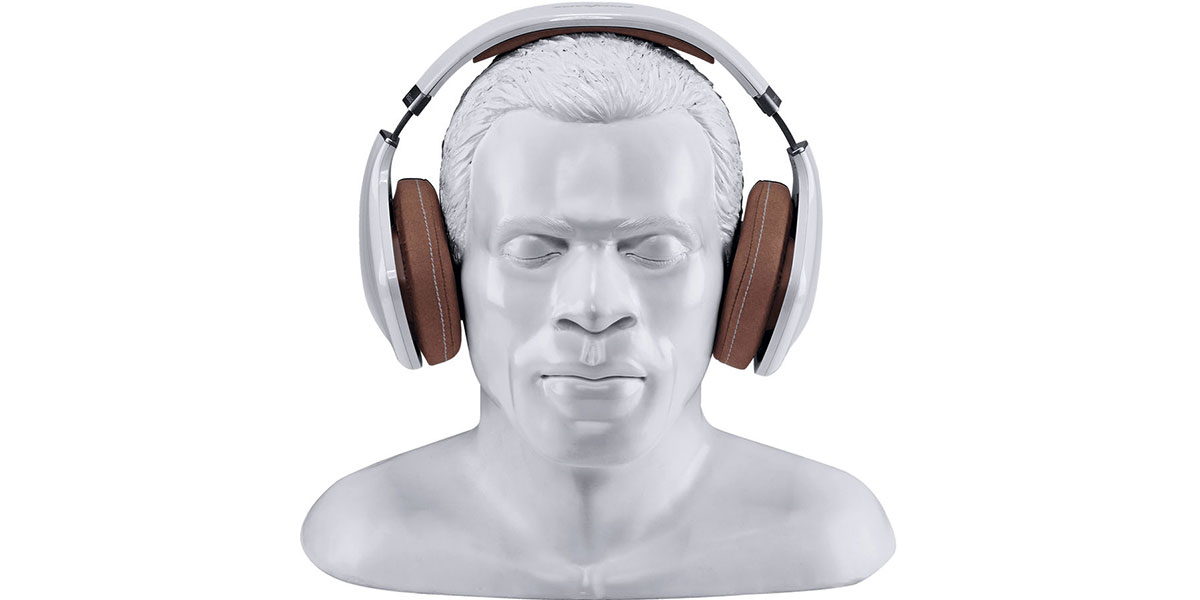 Oehlbach XXL Headphone Stand In Silence Blanc