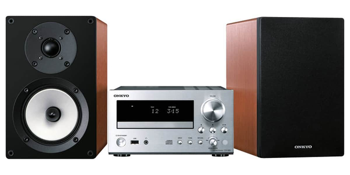 onkyo cs 555 enceintes calvados mini chaines hifi sur. Black Bedroom Furniture Sets. Home Design Ideas