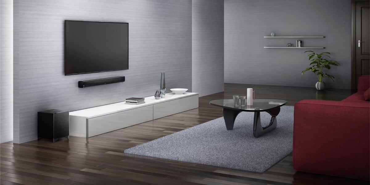 onkyo ls b50 noir barres de son sur easylounge. Black Bedroom Furniture Sets. Home Design Ideas