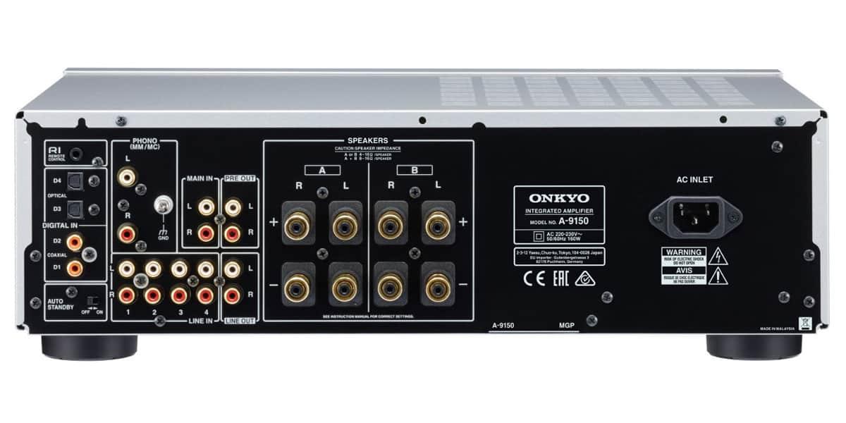 onkyo a 9150 silver amplis hi fi st r o sur easylounge