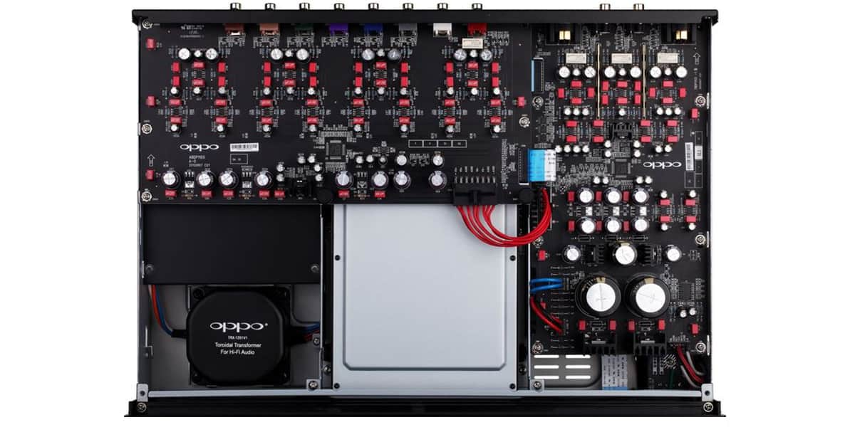 Oppo BDP-105EU Inside