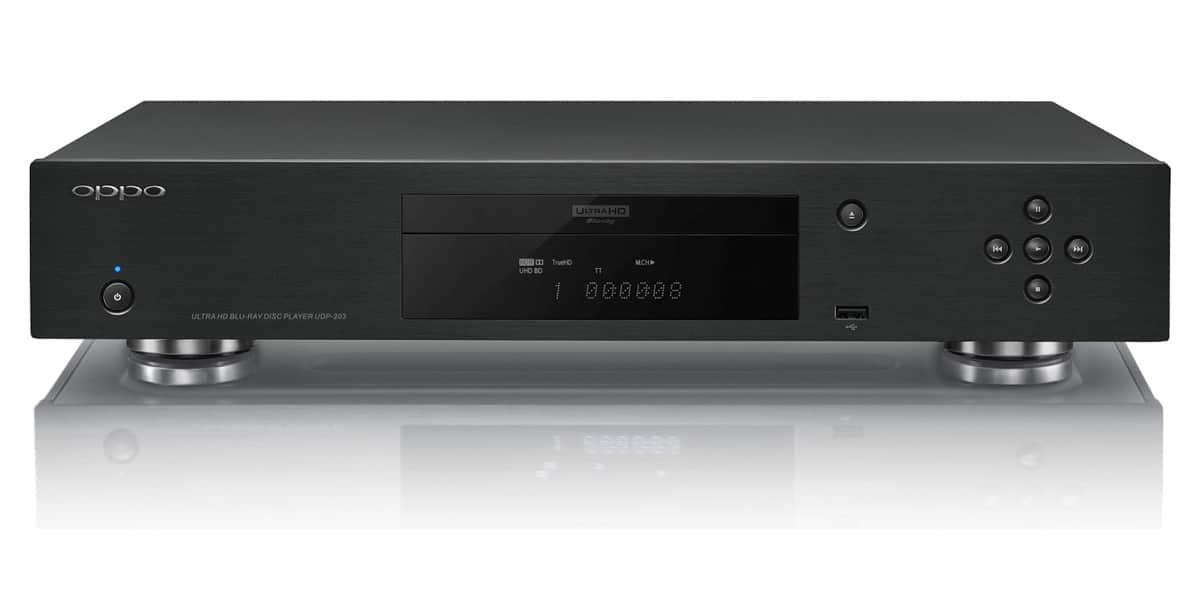 Oppo udp 203 noir lecteurs blu ray hd et 4k sur easylounge - Est ce qu un lecteur blu ray lit les dvd ...