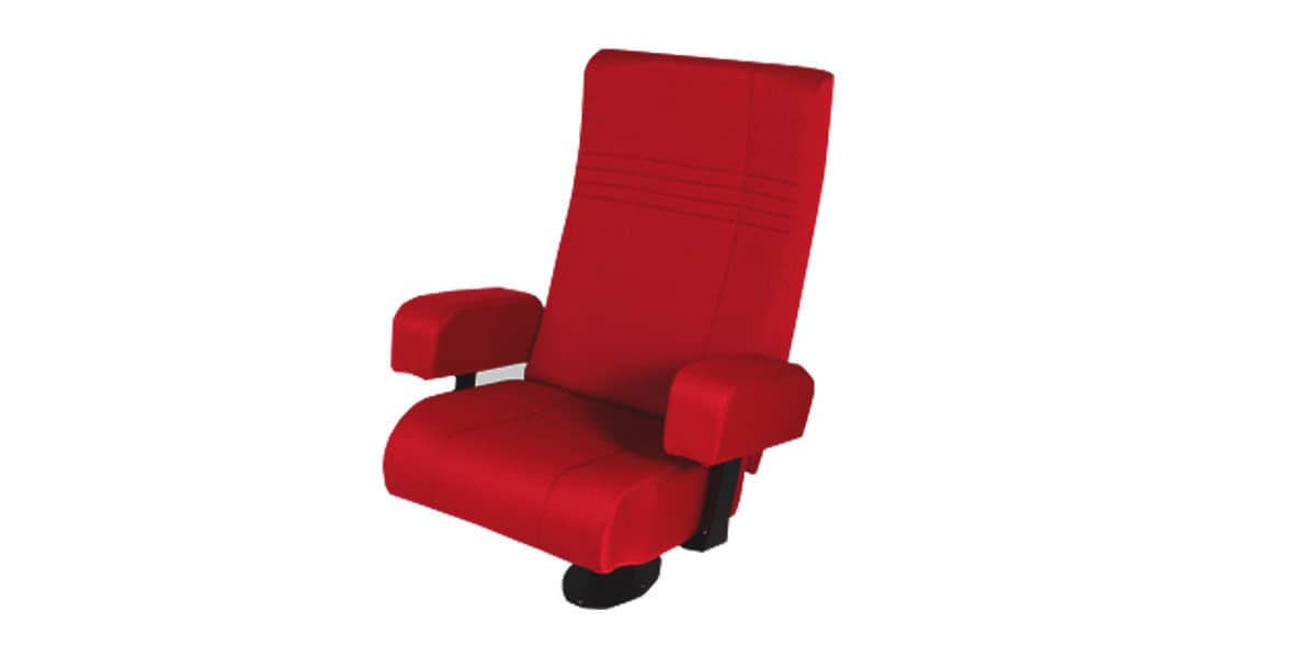 oray club 002 rouge fauteuils de cin ma sur easylounge. Black Bedroom Furniture Sets. Home Design Ideas
