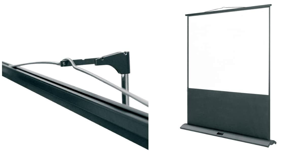 oray fly mono 87x116 crans de projection portables sur. Black Bedroom Furniture Sets. Home Design Ideas