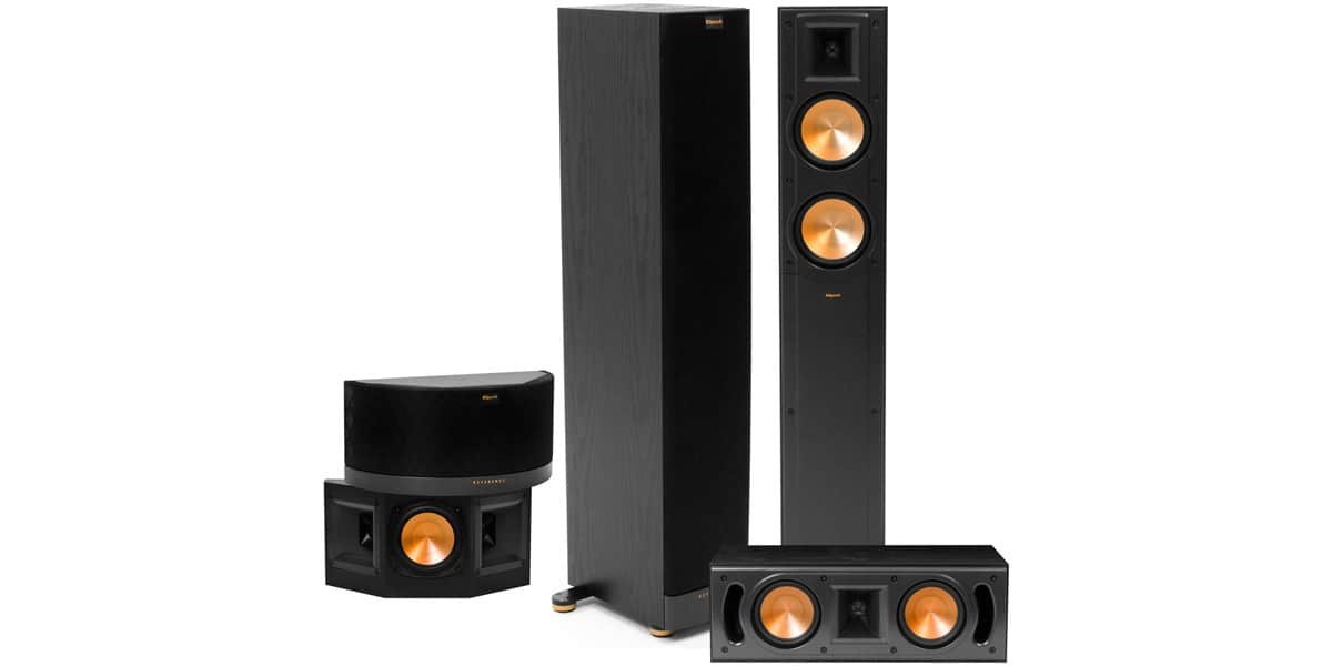 klipsch pack rf 42 mkii noir easylounge. Black Bedroom Furniture Sets. Home Design Ideas