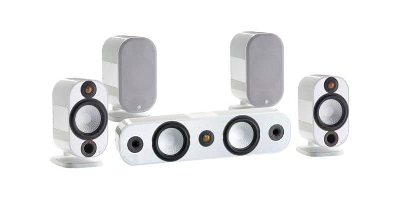Monitor Audio Pack Apex System Blanc