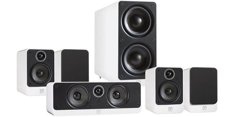 Q Acoustics Pack 2010i HC Blanc