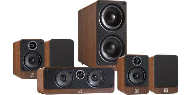 Q Acoustics Pack 2010i HC Noyer