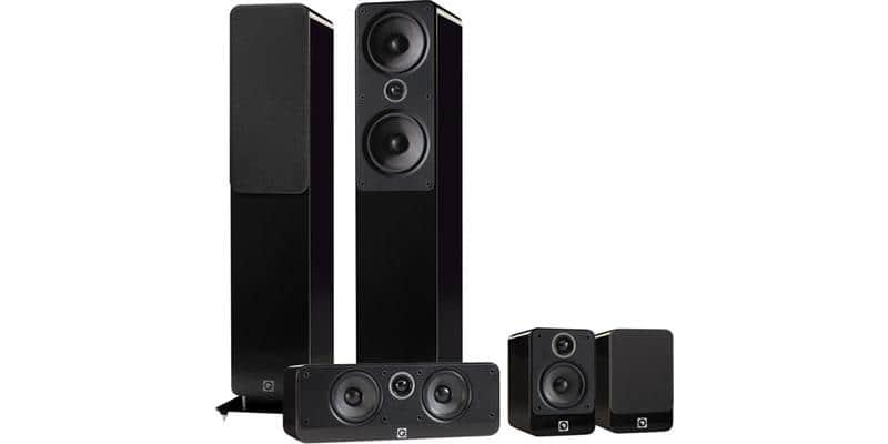 Q Acoustics Pack 2050i Noir Laqué