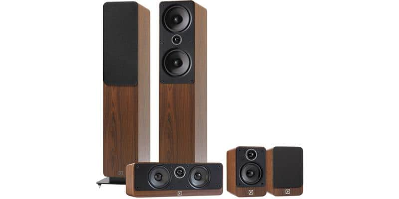 Q Acoustics Pack 2050i Noyer