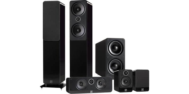 Q Acoustics Pack 2050i 5.1 Noir Laqué