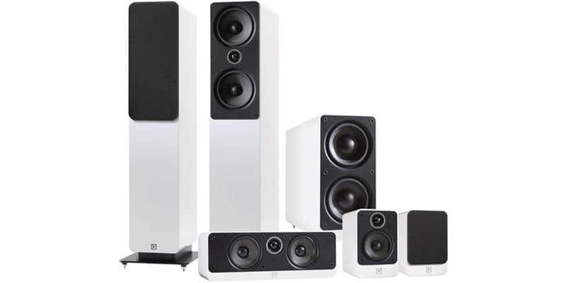 Q Acoustics Pack 2050i 5.1 Blanc Laqué