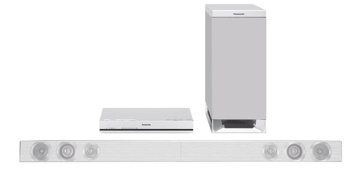 panasonic sc htb570egs blanc barres de son sur easylounge. Black Bedroom Furniture Sets. Home Design Ideas