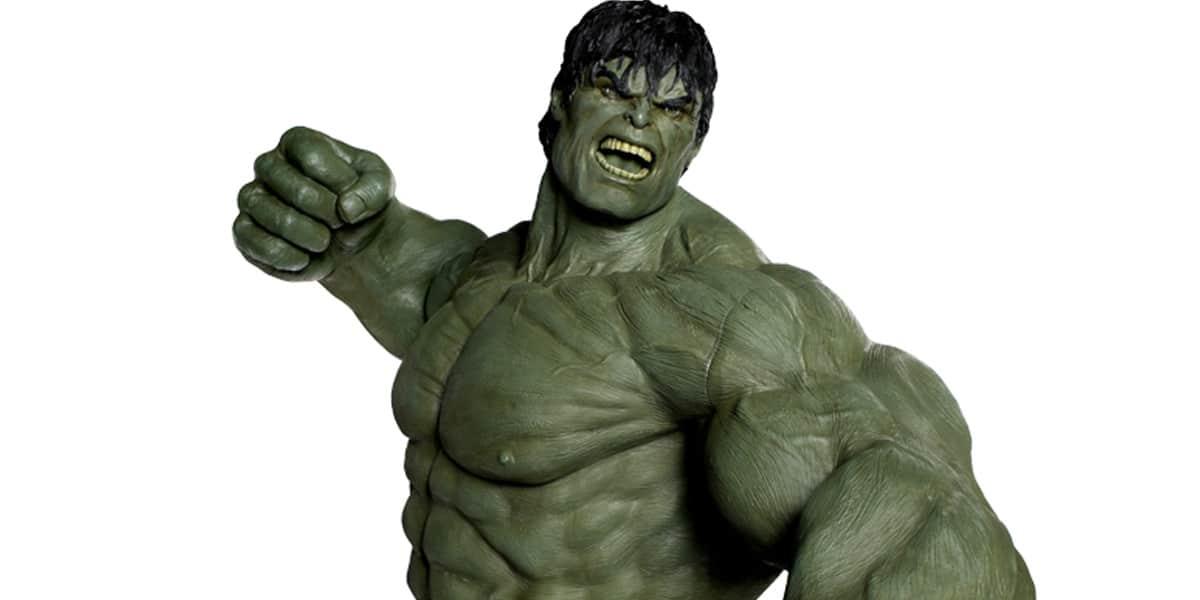 Lot de bustes et figurines Hulk Marvel collection