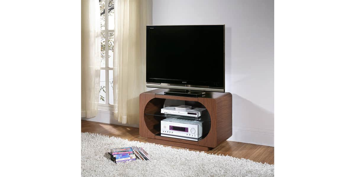 peerless fairmont 900 bois fonc meubles tv divers sur easylounge. Black Bedroom Furniture Sets. Home Design Ideas