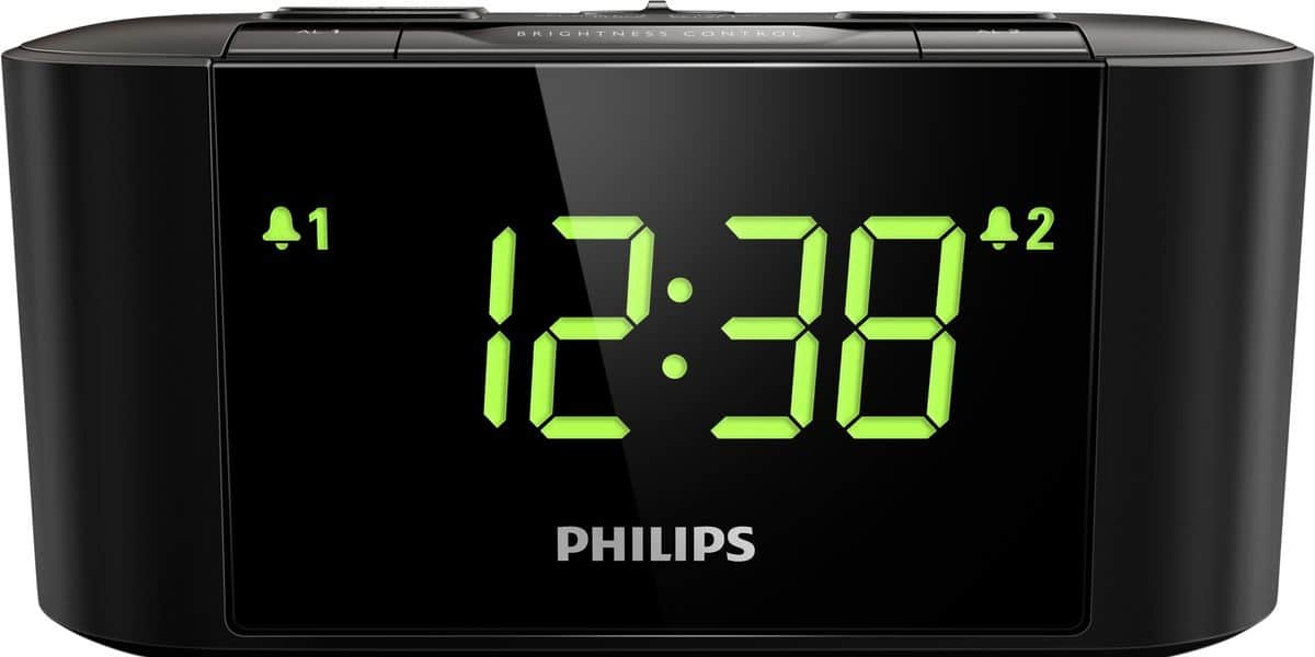 philips aj3500 noir radio r veils et webradio sur easylounge. Black Bedroom Furniture Sets. Home Design Ideas