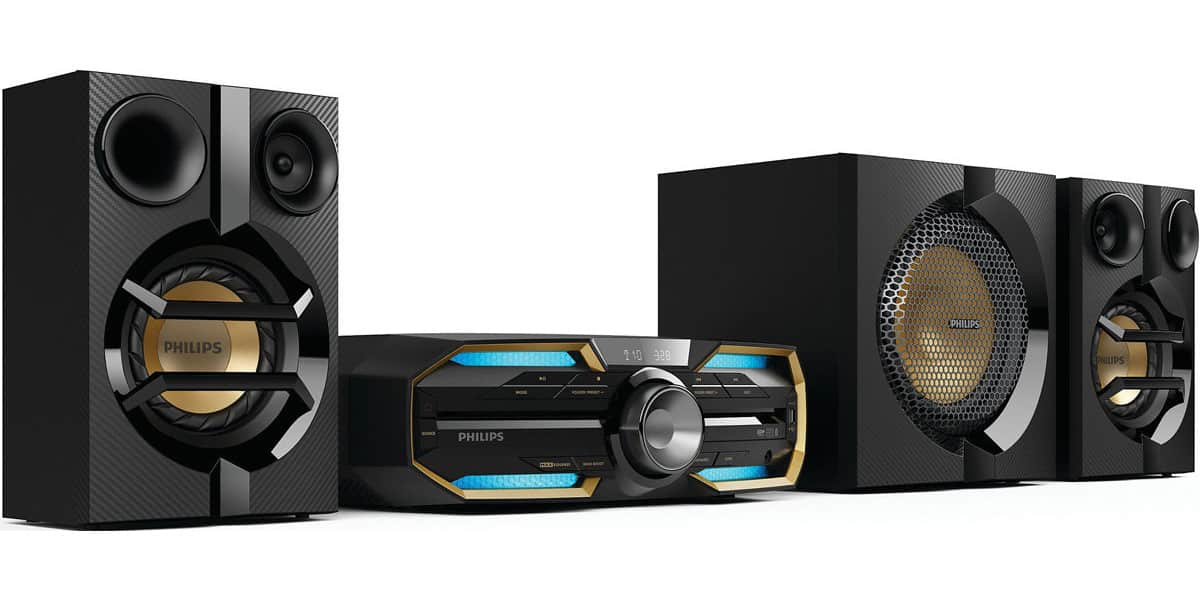 philips fx55 mini chaines hifi sur easylounge. Black Bedroom Furniture Sets. Home Design Ideas