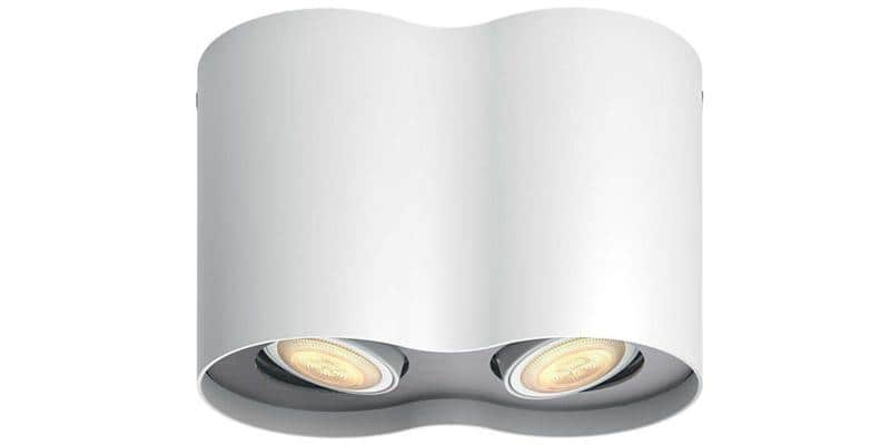 Philips Hue Pillar Double Blanc