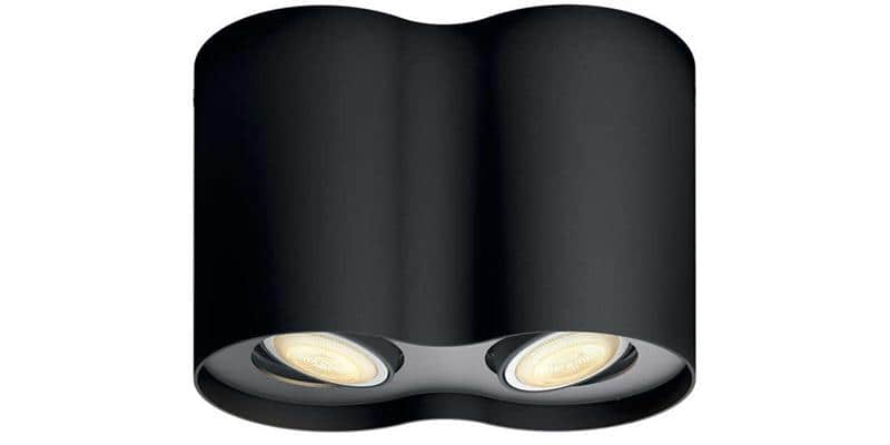 Philips Hue Pillar Double Noir