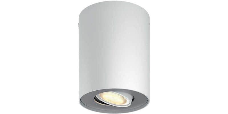 Philips Hue Pillar Blanc