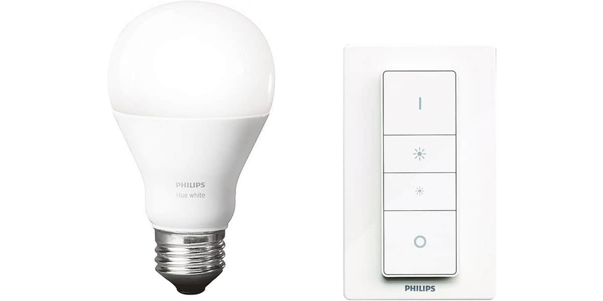 Philips hue wireless dimming kit e27 easylounge - Ampoule connectee philips ...