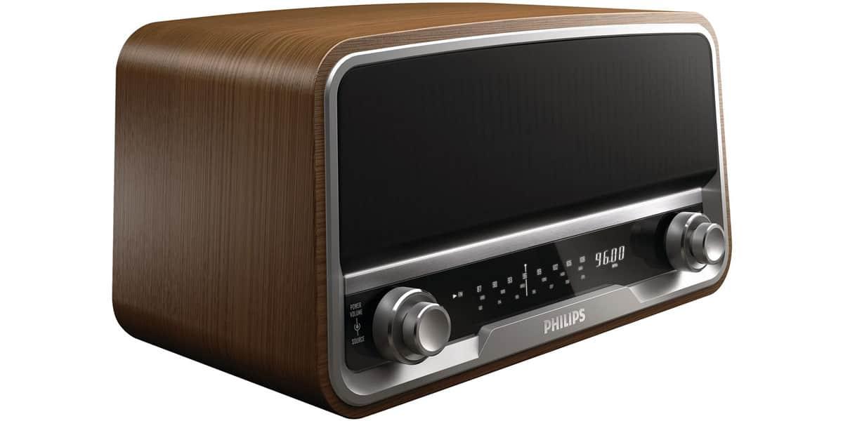Philips OR7000 Bois  RadioRéveils et Webradio sur EasyLounge ~ Radio Reveil Bois