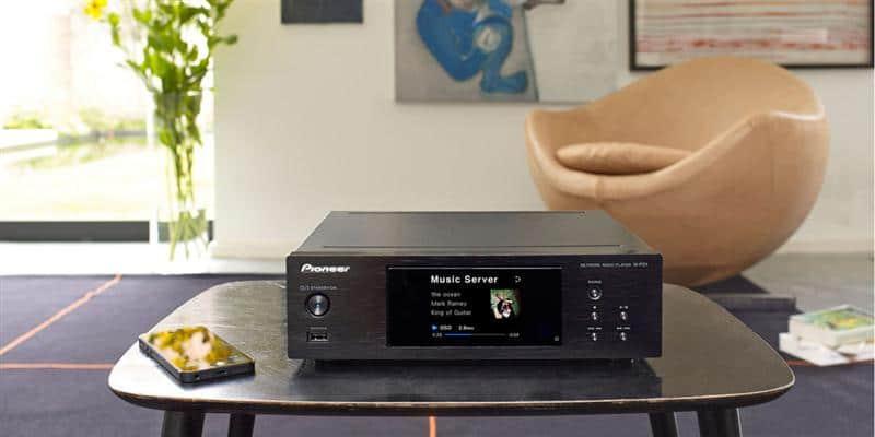 Pioneer N-P01-K Noir