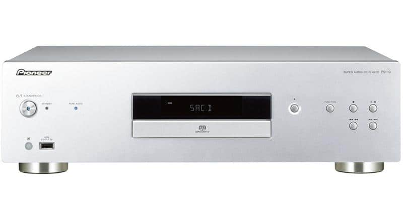 Pioneer PD-10-S Argent