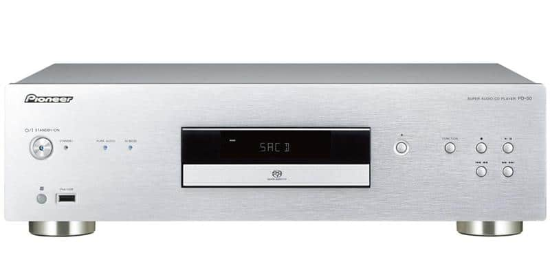 Pioneer PD-50-S Argent