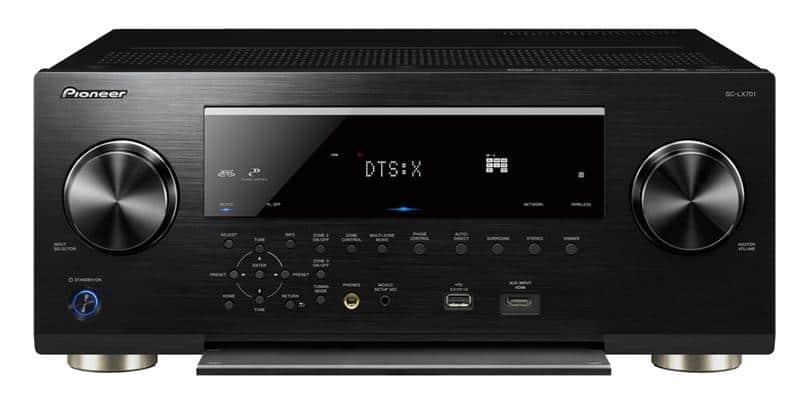 Pioneer SC-LX701 Noir