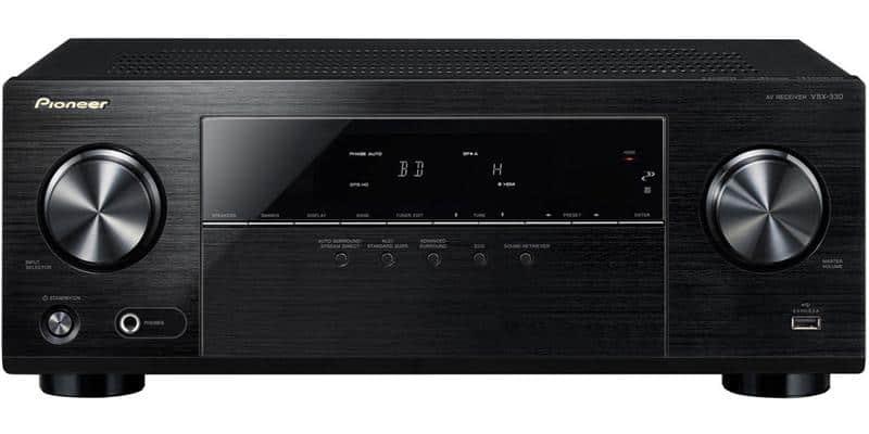 Pioneer VSX-330-K Noir