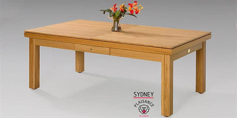 Billards Plaisance Plateau Table Sydney en Bois